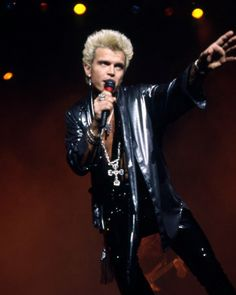 Billy Idol. Don't really have enough of him on here