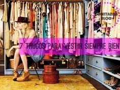 7 Trucos para vestir Siempre Bien!!! http://bonitadas.blogspot.com.es/2014/09/7-trucos-para-vestir-siempre-bien.html
