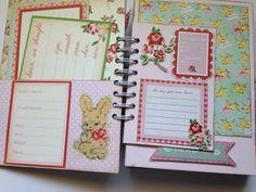 Handmade Baby Album Scrapbook Altered by LittleGoldenSunshine