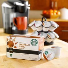I love starbucks and now they have K-cups for my Kerig. Life could not be better