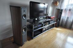 My setup: Sonus Faber Liuto; High End Hifi, Home Cinemas, Media Center, Audiophile, Home Theater, Make It Simple, Televisions, Cool Stuff, Turntable