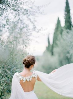 Elegant embellished gown by Gibson Bespoke + styling by Comme Soie | Fine Art film wedding photographer Peaches & Mint