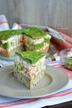 Cake with carrot and ham - Clean Eating Snacks Cake Sandwich, Tea Sandwiches, Salty Cake, Slow Food, Savoury Cake, Party Snacks, Clean Eating Snacks, Food To Make, Food And Drink