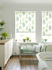 Angel Ferns Fabrics & Wallpaper by Sanderson Home will make all your friends Green with envy.
