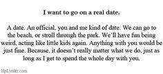 a real date