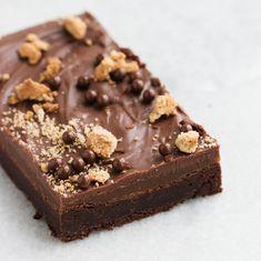 Fancy Desserts, Sweet Desserts, Just Desserts, Best Dessert Recipes, Cake Recipes, Brownie Packaging, Yummy Treats, Sweet Treats, Eat Dessert First