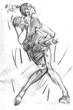 Harlem Swing Dance Studies / 2 by Martin French, via Behance Body Gestures, Music Illustration, Illustrations, Sketches Of People, Swing Dancing, Shall We Dance, Anatomy Drawing, Art For Art Sake, Dance Art