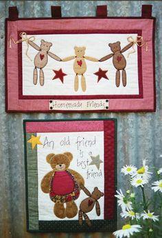 Bears - Kookaburra Cottage Quilts
