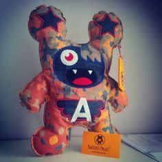 denim edition - camouflage - Felt Monster Plush Toys