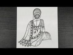 How To Draw A Traditional Girl With Saree || Easy Girl Drawing || Step By Step || Pencil Drawing - YouTube Beautiful Girl Drawing, Step By Step Drawing, Hello Everyone, Pencil Drawings, Saree, Traditional, Decoration, Easy, Youtube