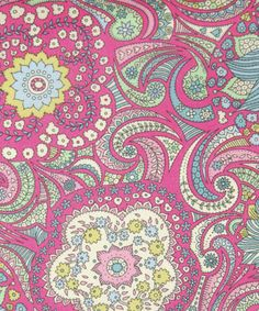 Busy Issie D Tana Lawn, Liberty Art Fabrics Liberty Art Fabrics, Liberty Print, Love Wallpaper, Pattern Wallpaper, Coloring Books, Colouring, Coloring Tips, Textile Design, Fabric Design