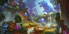 The Art of Hearthstone: Journey To Un'Goro