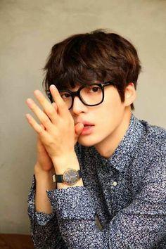 ahn jae hyun ❤ Why is he so damn cute?! >w<)~