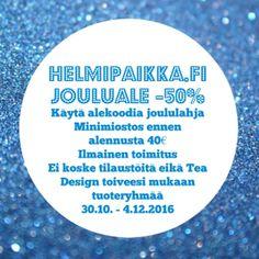 Koruale kestää enää tämän viikon! Klikkaile ostoksille www.helmipaikka.fi