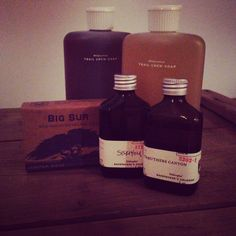 Juniper Ridge. Soap, cologne. Life on the trail. Mountains in a bottle.