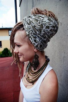dreads/wrapped