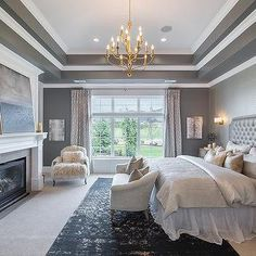 Bedroom Tray Ceilings - Design, decor, photos, pictures, ideas ...