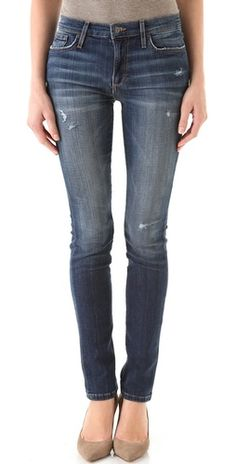 High waisted denim, Vintage Reserve Skinny Jeans (Joes Jeans). These are over one hundred and fifty dollars, but they are super cute and the high waist is perfect for concealed carry.