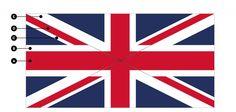 Correct Union Jack Flag Dimensions & Specifications | Flagmakers Union Jack Pillow, Jack Flag, Flags, British, Crafty, Wall Art, Sewing, Blue, Decor