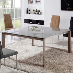 Naples Dining Table in Taupe