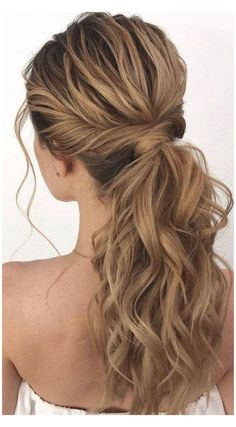 Prom Ponytail Hairstyles, Ponytail Updo, Twist Ponytail, Homecoming Hairstyles, Wedding Hairstyles For Long Hair, Party Hairstyles, Braided Hairstyles, Hair Updo, Trendy Hairstyles