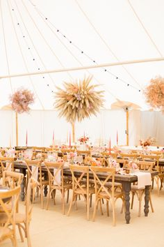 PapaKåta Autumn Open Weekend 2019 Showcasing Sperry Tents and Giant Tipis with Dried Wedding Flowers at Stonor Park by Helen Warner Photography Tipi Wedding, Marquee Wedding, Wedding Flowers, Wedding Venues, Wedding Reception, Wedding Bouquet, Fall Wedding, Reception Ideas, Wedding Blog