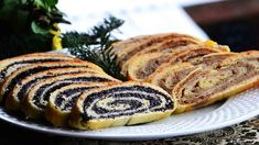 Bejgli - Hungarian Poppy Seed and Walnut Rolls - Everyone has their own Christmas food traditions. Whether it's the national traditions or we make up our own ones, doesn't matter! Hungarian Desserts, Ukrainian Recipes, Hungarian Recipes, Hungarian Food, Baby Food Recipes, Sweet Recipes, Whole Food Recipes, Dessert Recipes, Christmas Trees
