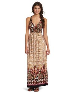 awesome Wrapper Braided Surplus Maxi Dress