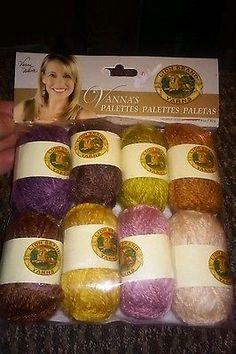 Lion Brand Vanna's Palettes Yarn Essential NEW IN PACKAGE