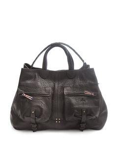 Jerome Dreyfuss - black leather bag