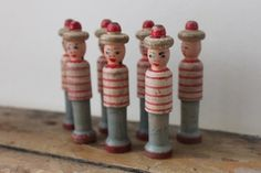 Kay Bojesen Vintage en bois garde royale danoise Garder soldat Danemark