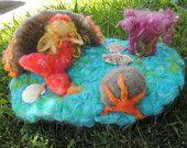 Needle Felted Fairies Angels Gnomes and Decor von Nushkie auf Etsy