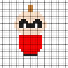 Jack-Jack - The Incredibles Perler Bead Pattern