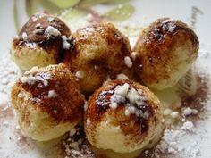 Czech Recipes, Ethnic Recipes, Food Humor, Dumplings, Doughnut, Baked Potato, Yummy Treats, Sweet Recipes, Muffin