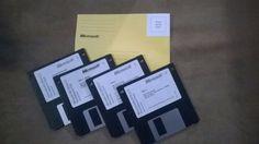 MS DOS 6.22 original floppy disc, oem ms dos