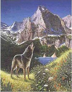 Take a very close look at this image! How many wolves do you see hidden within the image? Repin and share with friends to see who can get it right! :)