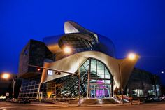Art Gallery of Alberta: it's so futuristic! Located in Edmonton, Alberta