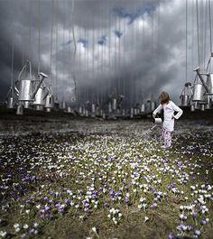 Photo d'art La dernière pluie