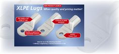 HellermannTyton presents NEW #XLPELugs When quality and pricing matters.