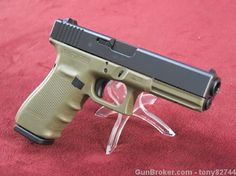 "Glock 21 Gen 4 OD GREEN.45 ACP PG2157203 4.60"" - http://gunsforsalebuy.com/glock-21-gen-4-od-green-45-acp-pg2157203-4-60.html"