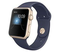 Apple Watch Sport Gold Aluminium Case with Smartwatch off) Apple Watch 42mm, New Apple Watch, Apple Watch Series 3, Apple Watch Bands, Ios Apple, Apple Uk, Apple Iphone, Smartwatch, Apple Watch Fitness