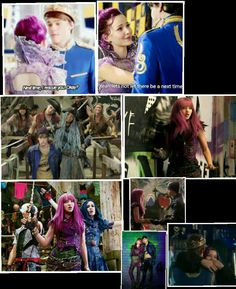 Descendants and descendants 2. Mal saves Ben again