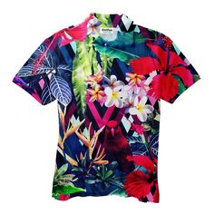 Floral Bird Men's Polo Shirt Men's Polo, Polo Shirts, Make You Smile, Onesies, Outfit Ideas, Men Casual, Bird, Hoodies, Tees