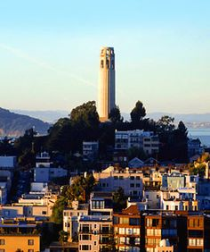 Coit Tower....seen it but always ready to go again!