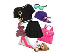 Un outfit sporty, per essere glamour anche con un look easy! #outfit #looksporty #consiglidistile #lucabarra #portachiavi