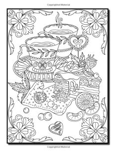Amazon.com: Delicious Desserts: An Adult Coloring Book with Whimsical Cake Designs, Lovely Pastry Patterns, and Beautiful Bakery Scenes for Relaxation and Stress Relief (9781542406505): Jade Summer, Adult Coloring Books: Books