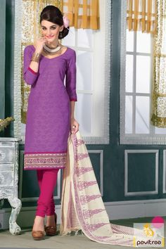 Fashionable purple color braso jacquard casual salwar kameez online shopping at cheapest price in India. You can buy purple color casual salwar suit online shopping from this designer collection. #salwarkameez, #salwarsuit, #chanderisalwarkameez, #casualsalwarlameez, #printedsalwarkameez,#churidarsalwarkameez, #discountoffer, #pavitraafashion, #utsavfashion, #straightsalwarsuit, #silksalwarsuit, #jacquardsalwarkameez http://www.pavitraa.in/store/casual-dress/ callus:+91-7698234040