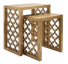 Marakkesh Nesting Tables
