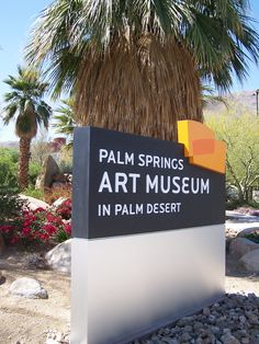 Darcy and I went to the Palm Springs Art Museum on El Paseo in Palm Desert.  The museum just recently opened and the museum is nice but the grounds are wonderful to walk through and enjoy.