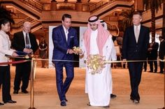 The first day of World Luxury Expo, Abu Dhabi was a salubrious occasion with the event officially inaugurated by H.H Prince Faisal bin Saud Al Faisal. Abu Dhabi, Palm Beach, Prince, Luxury, World, The World, Earth